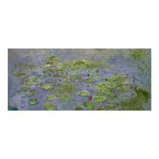 Nympheas (Waterlilies) by Claude Monet Card