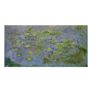 Nympheas (Waterlilies) by Claude Monet Card
