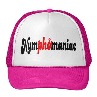 Nymphomaniac Trucker Hats