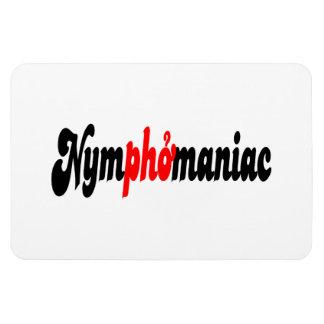 Nymphomaniac Rectangular Photo Magnet