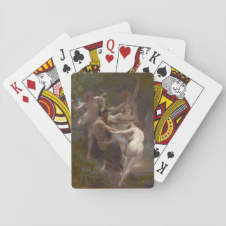 Nymphs and Satyr 1873 Playing Cards