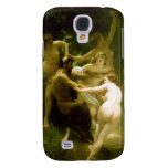 Nymphs and Satyr by William Adolphe Bouguereau Samsung Galaxy S4 Cases