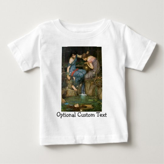Nymphs Finding the Head of Orpheus Baby T-Shirt