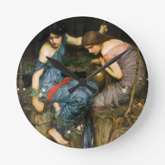 Nymphs Finding The Head of Orpheus Clock