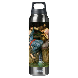 Nymphs Finding The Head of Orpheus Insulated Water Bottle