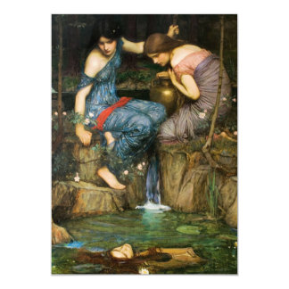 Nymphs Finding The Head of Orpheus Invitations