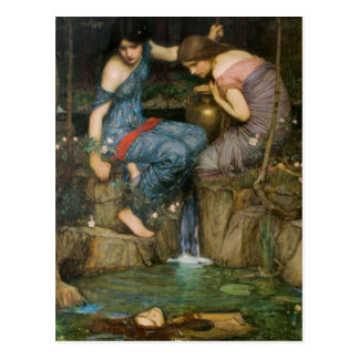 Nymphs Finding the Head of Orpheus Postcard