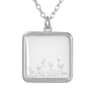 Nymphs in Fary World Necklaces