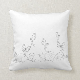 Nymphs in Fary World Pillow