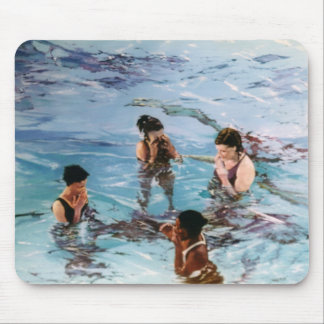 Nymphs in the water/Nymphs in to water Mouse Pad
