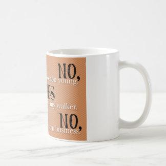 NYN CLASSIC WHITE COFFEE MUG