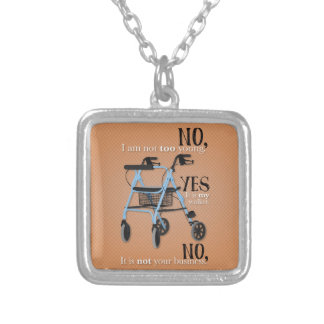 NYN SQUARE PENDANT NECKLACE