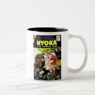 Nyoka The Jungle Girl Coffee Mug