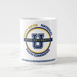 NYPD U - Blue & Gold U-Mug Giant Coffee Mug