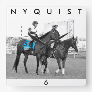 Nyquist Square Wall Clock