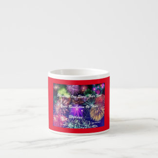NYRS Red Espresso Cup