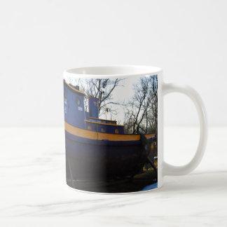 NYS Tug boat on a mug