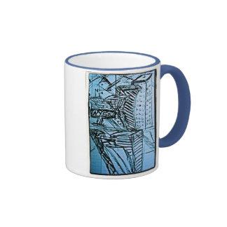 nyse sketch 2 ringer mug