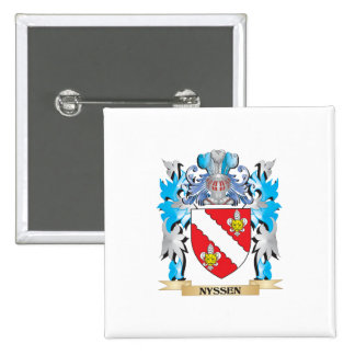 Nyssen Coat of Arms - Family Crest Pins