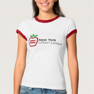 NYUL Logo Ladies Ringer T-Shirt