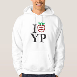 NYULYP Logo Basic Hooded Sweatshirt