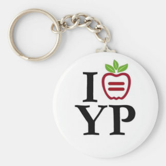 NYULYP Logo Keychain
