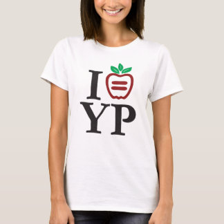 NYULYP Logo Ladies Baby Doll (Fitted) T-Shirt