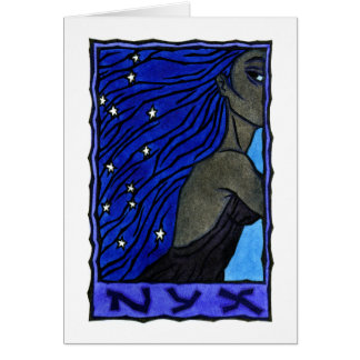Nyx Greeting Card