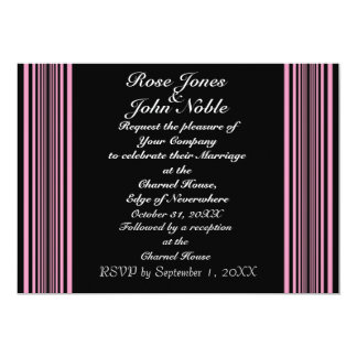 Nyx (Pink) Wedding Invitation