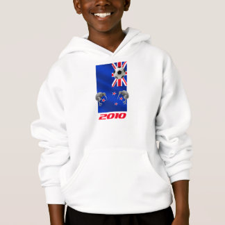NZ 2010 All Whites Soccer gifts Hoodie
