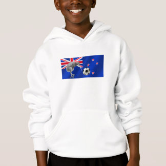 NZ all whites Kiwi soccer football fans gifts Hoodie