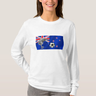 NZ all whites Kiwi soccer football fans gifts T-Shirt