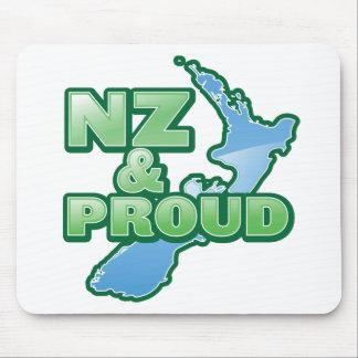 NZ and PROUD KIWI New Zealand Mouse Pad