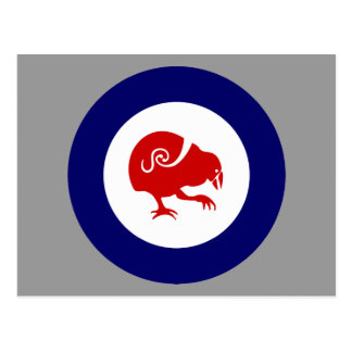 NZ bird TAKAHE post card