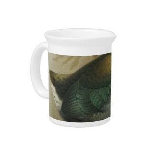 NZ Birds - Takahe Semi-Abstract Drink Pitcher