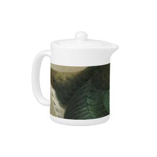 NZ Birds - Takahe Semi-Abstract Teapot