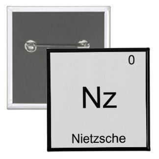 Nz - camiseta divertida del símbolo de la química pins