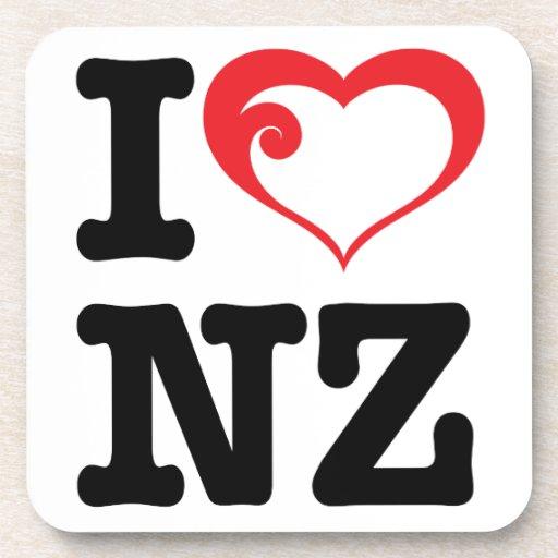 _NZ de I_love Posavasos De Bebidas