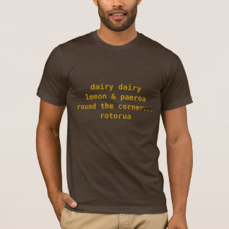 NZ Dirty Nursery rhyme T-Shirt