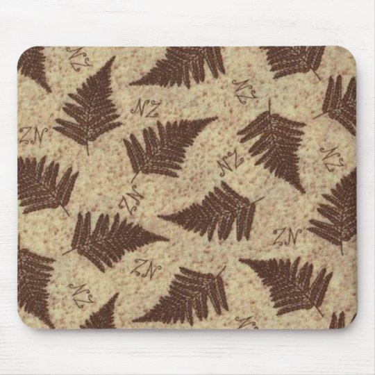 NZ Fern Mouse Pad