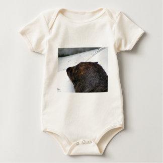 NZ Fur Seal Baby Bodysuit