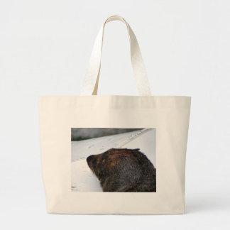 NZ Fur Seal Large Tote Bag