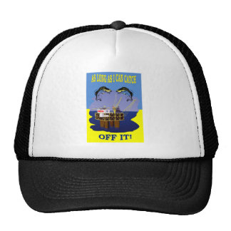 NZ GAS AND OIL EXPLORATION TRUCKER HAT