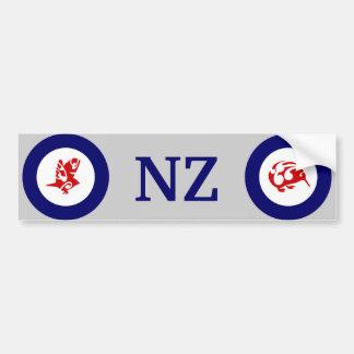 NZ Kiwi and Silvereye bumper sticker