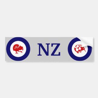NZ Kiwi and Takahe bumper sticker