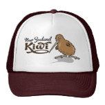 NZ Kiwi Printed Cap Hats