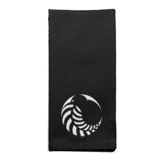 NZ Kiwi / Silver Fern Emblem Napkin