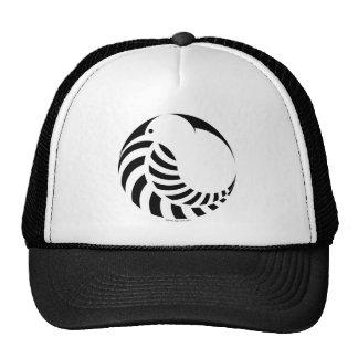 NZ Kiwi / Silver Fern Emblem Trucker Hat