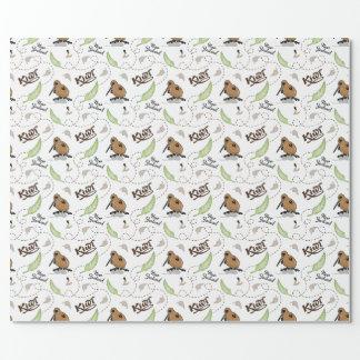 NZ Kiwi Wrapping Paper