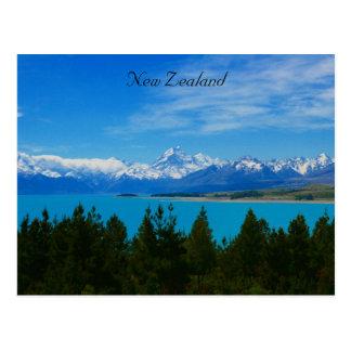 nz landscape postcard